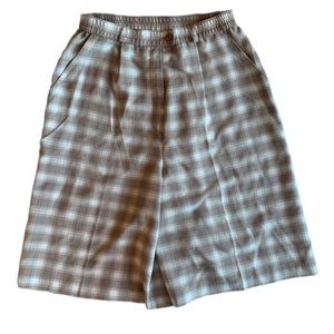 VINTAGE   Checked shorts